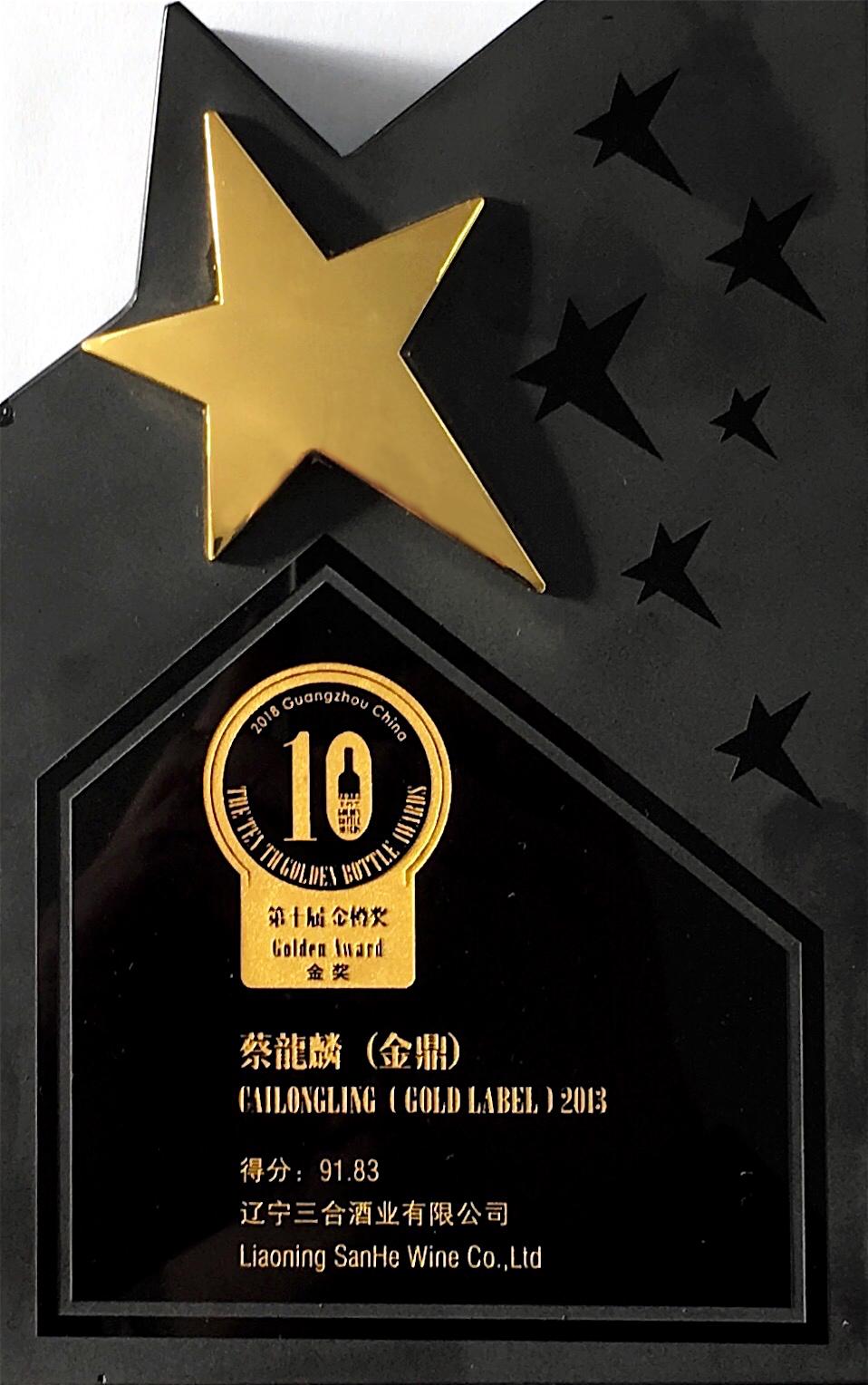 <span><span>第十届金樽奖金奖(金鼎2013)</span></span>